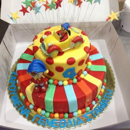 Παιδική τούρτα διώροφη