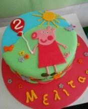 Παιδική τούρτα peppa pig